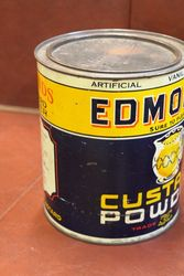 Edmonds Custard Powder Tin