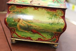 Edwardian Huntley and Palmers Biscuit Tin