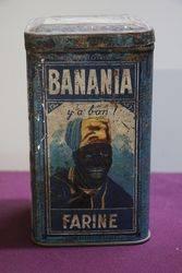 French Banania Farine Tin