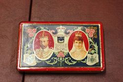 Frys Chocolate King George V Tin
