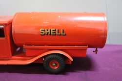Genuine TriAng Tin Plate Shell Oil Tanker