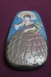 George W.Horner & Co Embossed Toffee Tin