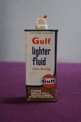 Gulf Lighter Fluid Tin