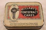 Hillaby`s Pontefract Cakes Tin