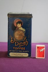 Horner Dainty Dinah Toffee Tin