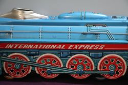 International Express Locomotive Friction Operation with Engine Noise