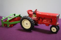 International Dia Cast Toy Tractor