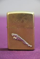 Jaguar Advertising Bradford Zippo Lighter