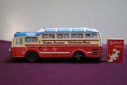 Kanto Toys HonkAlong Children Bus Friction Tin Toy