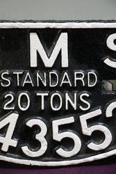LMS Standard 20 Tons  343552