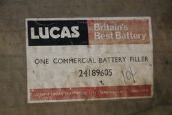 Large Lucas Commercial Battery Filler in Original Packing Box