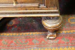 Late C19th 7 Drawer Oak Desk