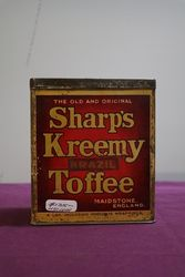 Maidstone Sharp's Kreemy Brazil  Toffee Tin