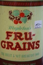Mapletonand39s Frugrains Tin