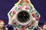 Mid 19th Century Staffordshire Group Watch Holder