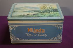 Milady Toffee Tin