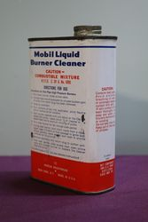 Mobil Pint Liquid Burner Cleaner Tin