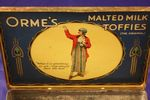 Ormes Malted Milk Toffee Tin