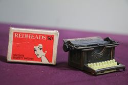Pencil Sharpener Remington Typewriter