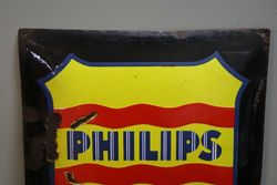 Philips Arlita Enamel Advertising Sign