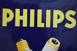 Philips Enamel Advertising Sign