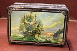 Pictorial Mazawattee Tea Tin