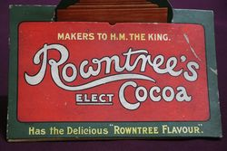 Rare Rowntrees Cocoa Price Card