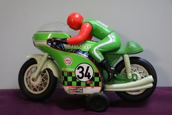 Rare T.P.S. (Japan) 1970's Honda Race Motor Toy