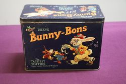 Riley's Bunny-Bons Toffees Tin