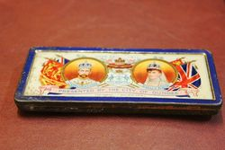Rowntrees Chocolate Coronation Commemorative Tin