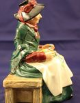 Royal Doulton silk and ribbons figurine