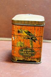 Sharps Super Creme Toffee Tin