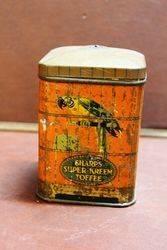 Sharps Super Creme Toffee Tin