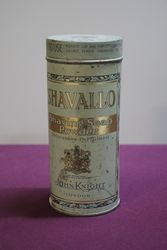 Shavallo Shaving Soap Powder Tin