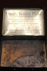 Shieldhall Heath Brown Flake Tobacco Tin