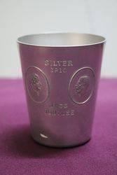 Silver Jubilee 1910-1930  Aluminium Tumbler.