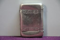Antique Silver Vesta Box.
