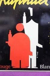 St Raphael Wine Adverting Sign