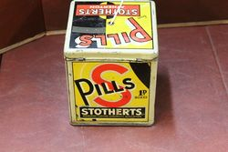 Stotherts Pills Shop Counter Display Tin
