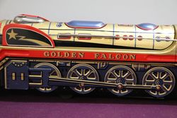 TM Japan Golden Falcon Battery Operated Tin Train Toy