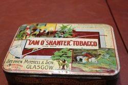 Tam O` Shanter Tobacco Tin