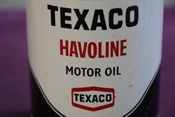 Texaco Havoline 1 Liter Motor Oil Tin