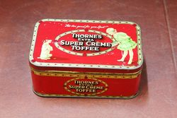 Thornes Extra Creme Toffee Tin