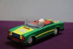 Tin Plate Toy Car Gurel Sanayi Taunus  Made In Turkey