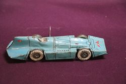 1930s  Lindstrom Wind Up Toy Tin Racing Car.#
