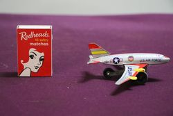 US Air Force USAF Airplane Toy
