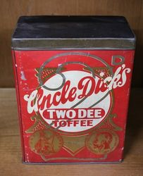 Uncle Dick's Toffee Tin