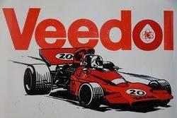 Veedol Racing 2 Litres Motor Oil Tin