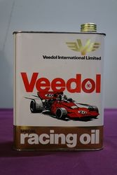 Veedol Racing 2 Litres Motor Oil Tin