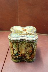 Victorian Huntley And Palmers Biscuit Tin